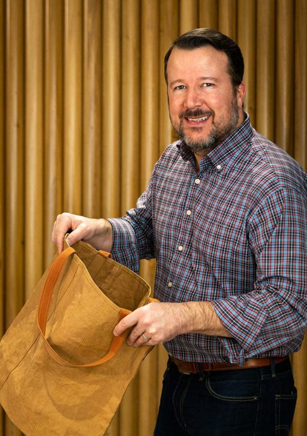 """This """"Supernatural Paper™"""" bag from Out of the Woods is Renewable & Responsibly Sourced"""